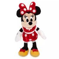 Disney Minnie Mouse Soft Toy Plush Mini Bean Bag 22cm