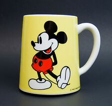 Vtg Mickey Mouse Walt Disney Wind up  Musical Coffee Mug Schmid Bros Japan