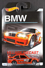2016 Hot Wheels BMW Series #3 BMW E36 M3 Race ORANGE METALLIC/MOC