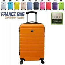 Maleta pequeña equipaje de mano cabina viaje 4 ruedas giratoria 360º FRANCE BAG