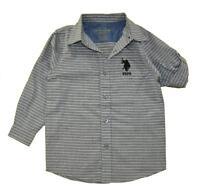 POLO ASSN NEW Navy Youth Size S8 Short Sleeve Polo Shirt Navy U.S