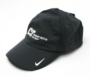 Nike Golf Conservative Review Adult Adjustable Sphere Dry Cap Hat Dri Fit Black