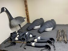 11 Canadian goose decoys shells