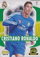 N°412 RONALDO # PORTUGAL REAL MADRID BOMBERS CARD PANINI MGK LIGA 2015