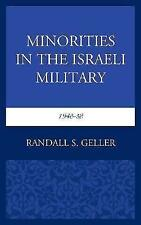Minorities in the Israeli Military, 1948-58 by Geller, Randall S., NEW Book, FRE