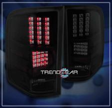 2007-2011 CHEVY SILVERADO LED TAIL BRAKE LIGHTS LAMPS BLACK/SMOKE 2008 2009 2010