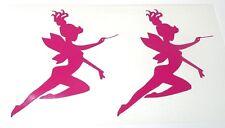 HOT SALE Kit 2 adesivi FATA Fairy ragazza girl murale wall sticker decal muro