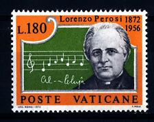 VATICANO - 1972 - Centenario della nascita del Maestro Lorenzo Perosi - 180 L.