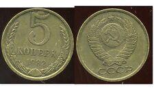 RUSSIE   5 kopek   1982 ( bis )