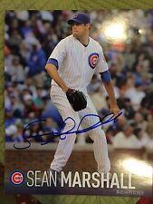 Sean Marshall Autographed 8 x 10 Photo - Chicago Cubs - Cincinnati Reds