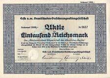 Erste n. oe. Brandschaden-Versicherungsgesellschaft  1940 Wien