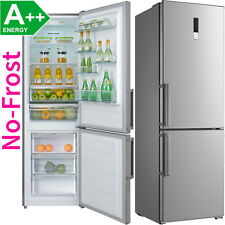 Edelstahl NoFrost A++ Kühl-Gefrierkombination 295 Liter Kühlkombi Kühlschrank !