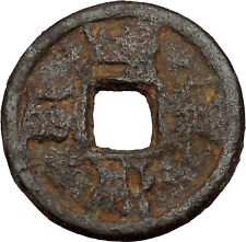 1208AD Southern Sung DynastyJia Ding Ancient Medieval Chinese Cash Coin i45116