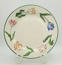 Tiffany Tulips Dinner Plate Designed By & Made Exclusively For Tiffany & Company