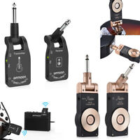 2.4G Wireless Rechargeable Electric Guitar Transmitter Receiver 6 Channels V2H7