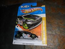 HOT WHEELS 2011 NEW MODELS '11 KEN BLOCK FORD FIESTA & PROTECTO