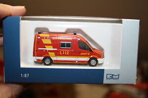 "Rietze VW Crafter ""FW Wuppertal"" Nr. 53120"