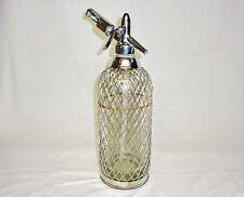 VTG Russian Soda Siphon * Glass Old Syphon Seltzer bottle