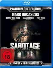 Mark Dacascos SABOTAJE - PLATINUM CULTO edición limitada Sin Cortes Blu-Ray