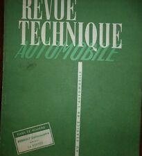 Revue technique RENAULT CELTAQUATRE ADC AEC  ADV BCR RTA 100 1954 + VERTEX