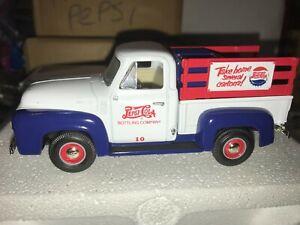 "First Gear 19-1582 Pepsi 1953 Ford Pickup Truck 1/34 ""MINT"""