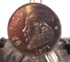 CIRCULATED 1971 UN PESO MEXICAN COIN (111217)1.....FREE SHIPPING!!!!!