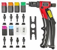 "8"" Rivet Gun Kit Rivnut Thread Setting Tool Nut NutSert M 1/4-20/10-24/8-32/6-32"