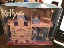 Vintage 1999 Mattel Barbie Kelly Princess Palace with Box