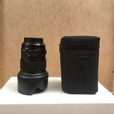 Sigma 50mm F1.4 DG Art HSM Lens Canon Fit With Hood Casecabd Caps