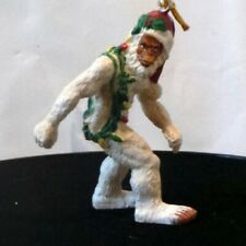 Bigfoot Abominable Snowman Yeti Holiday Ornament