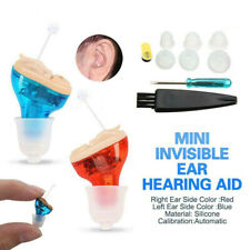 2019 MiNi Digital Invisible Hearing Aid CIC Small Sound Voice Amplifier Enhancer