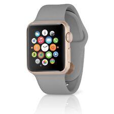 Apple Watch Series 2 Sport 38mm Aluminum Gold Case w/ Concrete Band MNP22LL/A