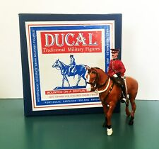 DUCAL MODELS British The King's Own Lancaster Regiment Officer M302 Toy Soldier
