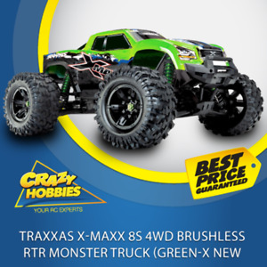 Traxxas XMaxx 8S 4WD Brushless RTR Monster Truck (Green-X NEW) *IN STOCK*