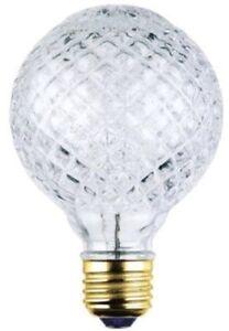 Westinghouse 0501700 - 40 Watt G25 Eco-Halogen Cut Glass Light Bulb