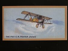 No.45 The FIAT GE FIGHTER ITALIAN Aeroplanes REPRO of Thomas Bear 1926