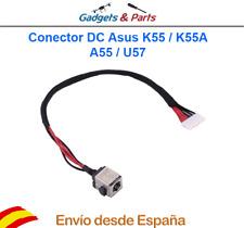 Conector DC Jack Carga Asus K55 K55A A55 U57 K55VD - Nuevo !!!