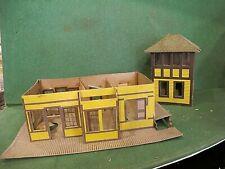 vintage O or Ho assorted cardboard buildings ect lot 21