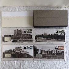 CASTLES 2005 50 ° Anniversario 4 x prova come TIMBRO LINGOTTO Set-Boxed Completo /