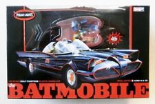 Polar Lights 824 60's TV BATMOBILE W/ Batman and Robin figs, Prefinished 1/25