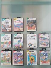 Sega Master System Spiele Sammlung