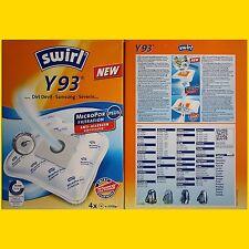 4 Beutel Swirl Y 93 MicroPor Plus Staubsaugerbeutel Y93 frei Haus per Warensdg