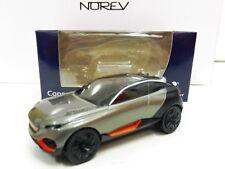 """Peugeot Concept Car Quartz Gris 1/64 3 """"Inches"""" NOREV NEUF """"Port Groupés"""""""