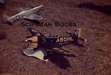 ANSCOCHROME 35mm Slide German A5HL USAF Propellor Remote Controlled Plane 1950s?