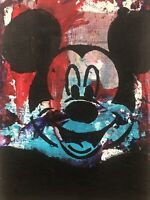 Hasworld Original,painting,signed,Pop Art  Contemporary abstract Mickey Mouse