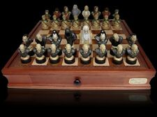NEW Dal Rossi Italy LORD OF THE RINGS PolyResin Chess Pieces  Board NOT Included