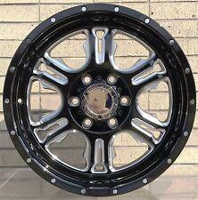 "4 New 18"" Wheels Rims for Chevrolet Silverado 1500 K 1500 C 2500 K 2500 -654"
