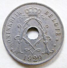 BELGIUM SCARCE  1929  VINTAGE   50 CENTS COIN   IN A VERY COLLECTABLE GRADE