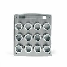 NEW Kamenstein 12 Tin Magnetic Spice Rack FREE SHIPPING