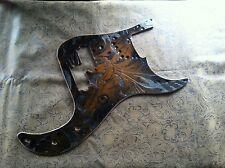 Custom Tooled Leather Pickguard Fender Precision P Bass